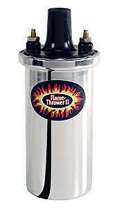 Pertronix Flame Thrower Ii Coil Chrome 45000 Volt 45001