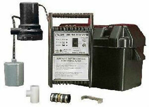 Spbs 12 506400 B Little Giant Sump Pump Back up System With Battery