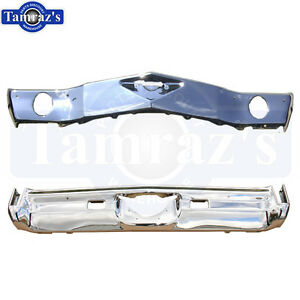 1970 Monte Carlo Front Rear Bumper Kit Triple Chrome Plated New