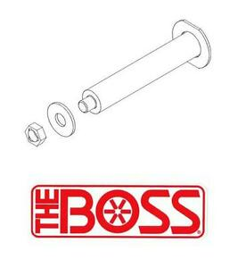 Boss Snow Plow Horizontal Hinge Pin Kit For 10 Foot Rt3 Smart Hitch 2 V plows