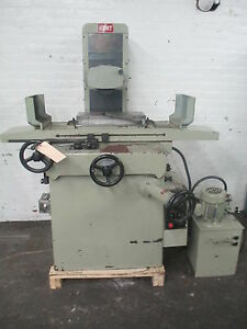 Kent 8 X 18 Hydraulic Surface Grinder Model Kgs 250ah Well Equipped