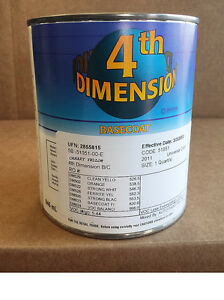 Sherwin Williams Dimension Canary Yellow Basecoat Restoration Body Car Paint