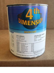 Auto Paint Sherwin Williams Dimension Basecoat Safety Yellow Restore Car Paint