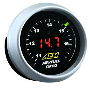 Aem Wideband 02 Air fuel Uego Controller Gauge Kit Bosch 4 9 Lsu Sensor 30 4110