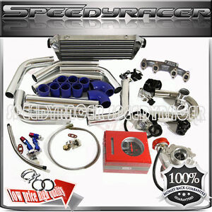 T3 Turbo Kit Vw Jetta Golf Passat Beetle Cabrio 2 0l 8v Sohc