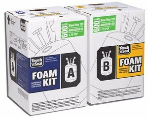 Touch N Seal Spray Foam Insulation Kit 600 Bf Slow Rise Fr
