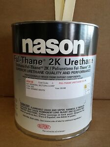 Dupont nason Ermine White Gm 936 Ful thane 2k Urethane Auto Body Shop Paint