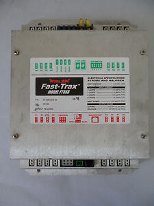 Whelen Fast trax Model Ft8x8 P n 01 0683216 00 Strobe Power Supply 8 Outlet