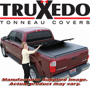 Truxedo 756901 Deuce Hinged Roll Up Tonneau Cover 05 15 Toyota Tacoma 6 Bed
