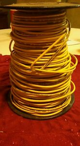 Thhn thwn 300 Ft 10 Awg Solid Copper Wire Yellow