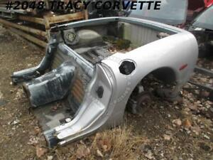 1997 2004 Corvette Used Coupe Rear Clip Shell W Floor Frame Section