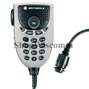Motorola Oem Rmn5065b Rmn5065 Mototrbo Keypad Microphone With Enhanced Audio