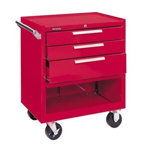 273xr 3 Drawer Roller Cabinet Model 273x Color Red