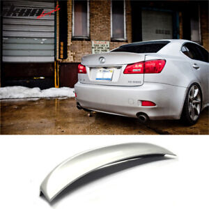For 06 13 Lexus Is250 Is350 Isf Ik Style Trunk Spoiler 1g1 Tungsten Pearl
