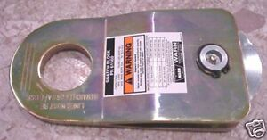 Warn 88899 Snatch Block 19000lb M8000 Cable Winch Recovery Greasable Pulley 5 16