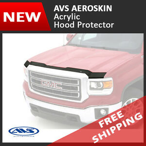 Avs Aeroskin Hood Protector Bug Shield Deflector For 2004 2012 Ford Ranger