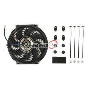 Rev9 Power Universal 14 Electric Radiator Slim Fan With Fittings And Brackets