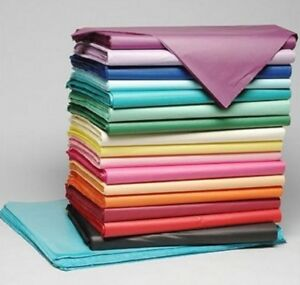 Luxury Tissue Paper 18gms Acid Free 500 Full Sheets Select Colour free P