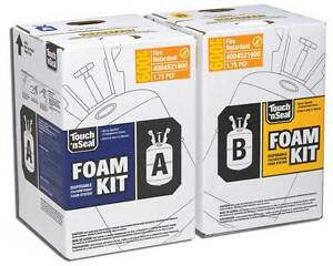 Touch n Seal U2 600 Fire Retardant Closed Foam Spray Foam Insulation Kit 600bf