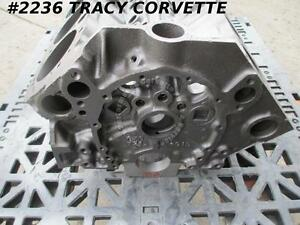 1968 Chevy Camaro Used 3914660 1967 1968 Dated 327 V 8 Bare Block Choose 1