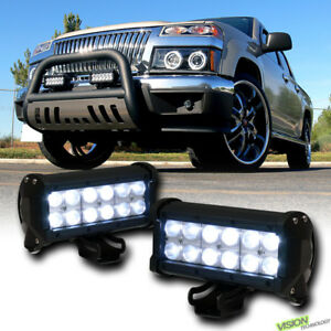 7 36w Cree Led Light Bar Spot Beam Off Road Bull 4x4 Fog Car Suv Van Truck V05