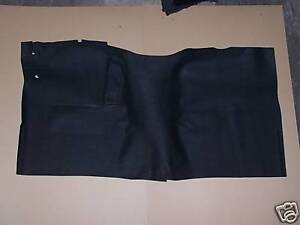 Dodge Pick Up Truck 1972 1993 2wd Column Shift Black Front Rubber Mat