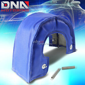 T6 T88 Gt40 Turbo Charger Turbocharger Exhaust Blue Heat Shield Blanket Cover