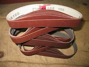 25 1 X 18 Sanding Belts For Work Sharp Knife Sharpener Ken Onion Attachment