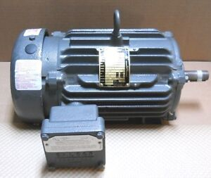 Baldor M7137t Hazardous Location Motor 2hp 230 460v 3ph 1740 Rpm New No Box