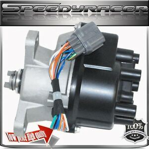 For 96 98 Honda Civic Ignition Distributor 1 6l Td80 Del Sol S Si Coupe