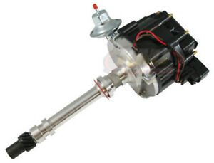 Assault Racing Sbc Bbc Chevy V8 305 350 396 454 Black Cap Hei Distributor 65kv