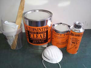 Acrylic Enamel Clearcoat Auto Body Shop Paint Restoration Kit