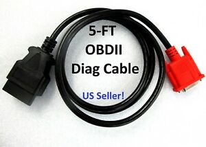 Obdii Cable With Super 16e Built In Obd2 Plug For Launch X431 Gx3 Master Scanner