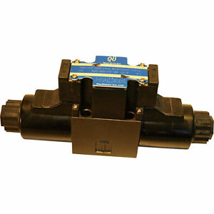 Northman 3 position Soft Shift Double Solenoid Operated Directional Valve 12 V