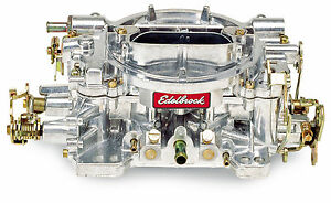 Edelbrock 1405 Performer Series Carburetor 600 Cfm With Manual Choke