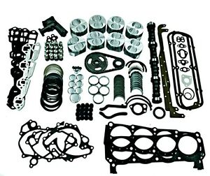 Ford 302 Master Engine Overhaul Kit 5 72 Thru 1976