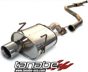 Tanabe Medalion Touring Cat Back Exhaust Civic Hatchback 1992 95 T70004