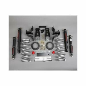 Belltech 686nd Lowering Kit 3 Front 4 Rear Chevy Gmc C1500 Pickup 2wd Kit