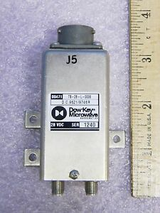 New Dow key Ts 28 l 0006 Sma Rf Transmission Switch Nsn 5985 01 423 1048