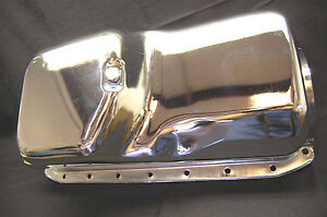 Spectre 5493 Chrome Engine Oil Pan Small Block Chrysler Plymouth Dodge 273 340