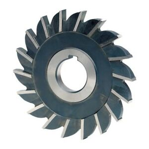 10 027 048 Straight Tooth High Speed Steel Side Milling Cutter Tool Material