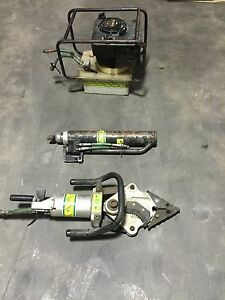 Phoenix Jaws Of Life Pump Cutter Ram Spreader Hydrualic Rescue Tool Power Unit