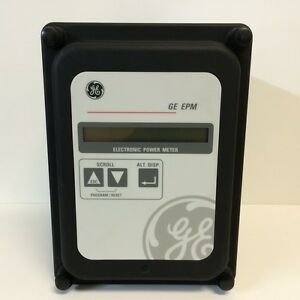 Guaranteed Ge General Electric Epm Electronic Power Meter 277v 10a