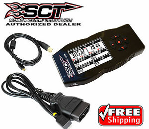 Sct X4 7015 Power Flash Tuner Programmer For Ford F250 F350 Powerstroke Diesel