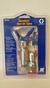 Clean Shot Shut off Valve For Paint Gun Pole Extensions 287030 By Graco W tip