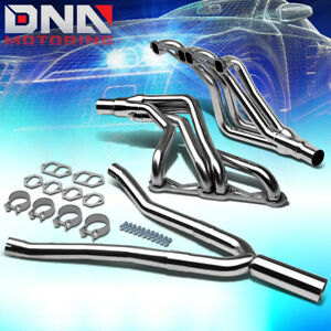 For 82 92 Camaro Sbc At Stainless Long tube Performance Header y pipe Exhaust