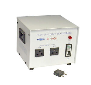 New Philmore St1000 1000 Watt 110 220 Volt Step Up Or Step Down Transformer