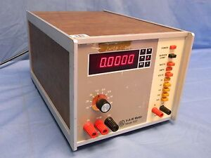 Rfl Model 620 V a w Meter Ac Voltage Amps Watts Tested