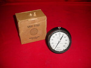 New Ashcroft 4 5 Receiver Pressure Gauge 3 15 Psi 0 100 1 4 Back Connection