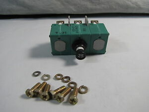 Aircraft Circuit Breaker 25 Amp Bacc18ae25 9tc6 25 New